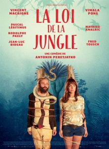 "Affiche du film ""La Loi de la jungle"""