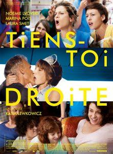 """Affiche du film """"Tiens-toi droite"""""""
