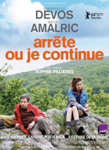"""Affiche du film """"Arrête ou je continue"""""""