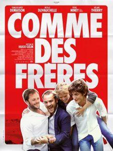 """Affiche du film """"Comme des frères"""""""