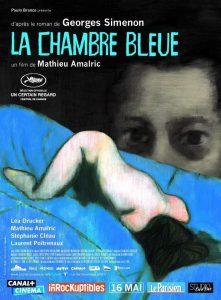"""Affiche du film """"La chambre bleue"""""""