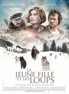 """Affiche du film """"La jeune fille et les loups"""""""