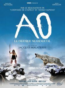 """Affiche du film """"Ao, le dernier Néandertal"""""""