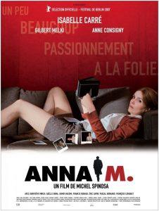 """Affiche du film """"Anna M."""""""