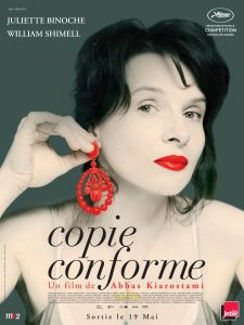 "Affiche du film ""Copie conforme"""