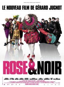 """Affiche du film """"Rose et noir"""""""