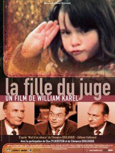 "Affiche du film ""La fille du juge"""