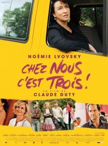 """Affiche du film """"Chez nous c'est trois !"""""""