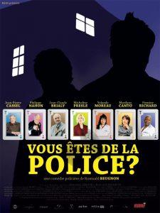 """Affoche du film """"Vous êtes de la police ?"""""""