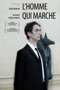 """Affiche du film """"L'homme qui marche"""""""