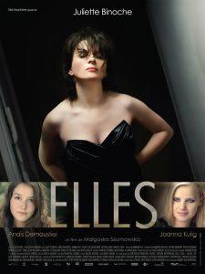 """Affiche du film """"Elles"""""""